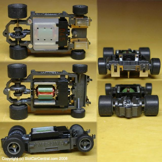 1999 To Present Day Life-Like 'T' Style Slot Car Chassis