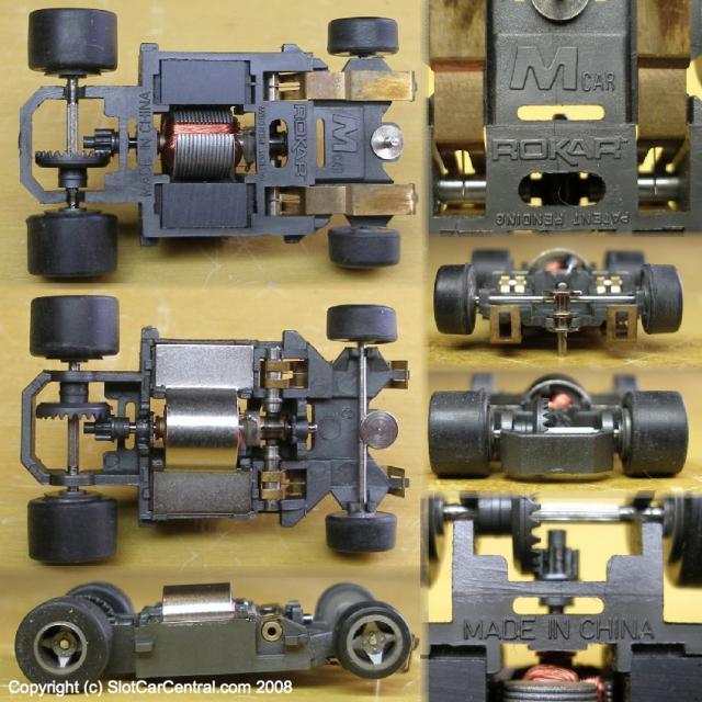 1989-1991 ROKAR M-Car chassis  | SlotCarCentral